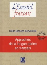 Approches de la langue parlée en français - Nouvelle édition