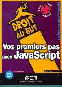 Vos premiers pas en Javascript