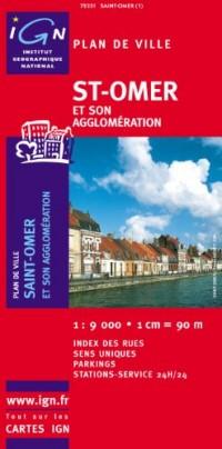 Plan de ville : St-Omer (sans livret)