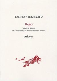Regio : Et autres poèmes