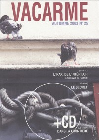 Vacarme, numéro 25 : Automne 2003