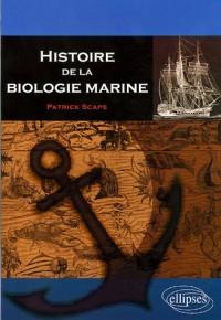 Histoire de la biologie marine