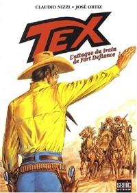 Tex, Tome 4 : L'attaque du train de Fort Defiance