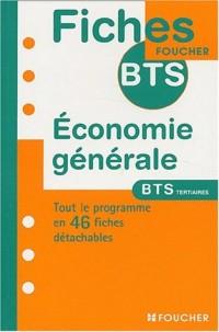 Fiches BTS Foucher : Économie générale, BTS