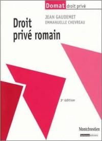 Droit privé romain