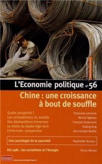 L'Economie politique, N° 56, Octobre 2012 : Chine : une croissance à bout de souffle