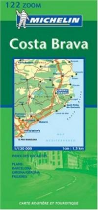 Carte routière : Costa Brava, N° 11122