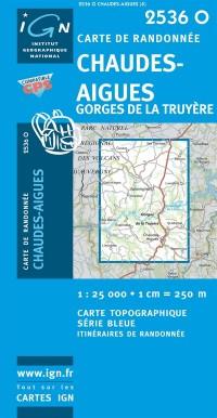 Chaudes-Aigues/Gorges de la Truyere GPS: IGN2536O