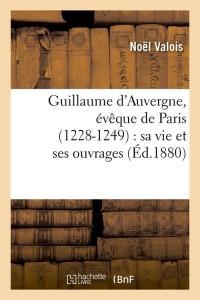 Guillaume d Auvergne  ed 1880
