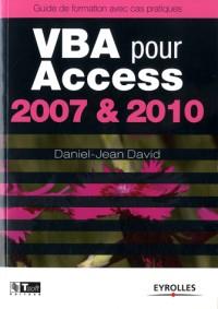 Vba pour Access 2003-2010