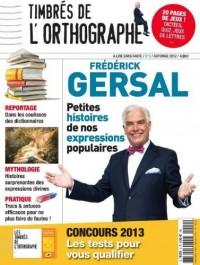 Timbres de l'Orthographe N 2 - Magazine