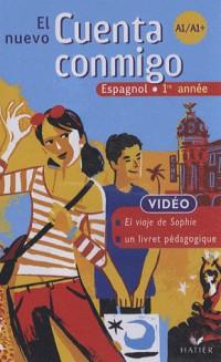 El Nuevo Cuenta Conmigo Espagnol 1re Annee - Cassette Video, ed. 2007