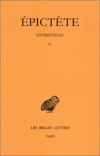 Entretiens (Livre IV)