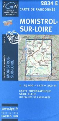 Monistrol-sur-Loire GPS: IGN2834E