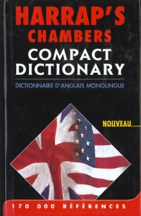 Harrap's Chambers Compact : Dictionnaire monolingue