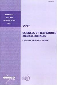 CAPET, Sciences et techniques médico-sociales : Concours externe et CAFEP