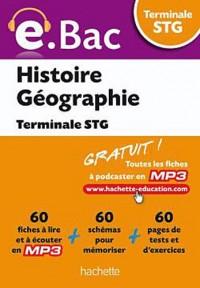 e.Bac - Histoire Géographie Terminale STG