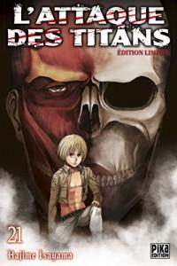 L'Attaque des Titans T21 Edition limitée