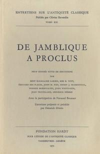 De Jamblique a Proclus
