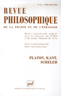Revue philosophique, N° 2 - Tome 132 :