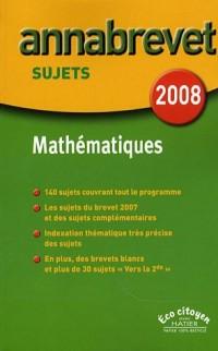 Mathématiques Brevet : Sujets
