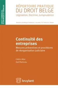 Continuité des entreprises : Mesures préventives et procédures de réorganisation judiciaire