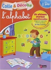 L'alphabet : Colle et décolle