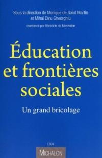 Education et frontières sociales