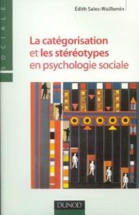 La catégorisation et les stéréotypes en psychologie sociale