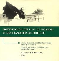 Modélisation des flux de biomasse et des transferts de fertilité : CD-ROM Cas de la gestion des effluents d'élevage à l'île de la Réunion - Actes du séminaire, 19-20 juin 2002, Montpellier, France