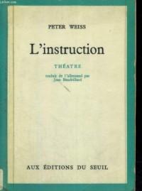 Instruction (l')