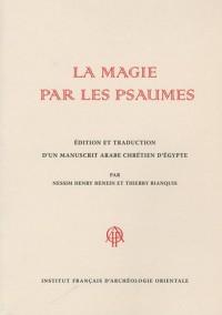 La magie par les psaumes : Edition et traduction d'un manuscrit arabe chrétien d'Egypte