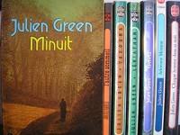 julien green - lot 7 titres : minuit - l'autre sommeil - varouna - léviathan - epaves - adrienne mesurat - chaque homme dans sa nuit