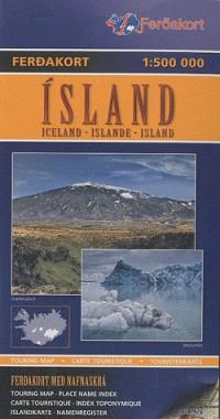 Islande : 1/500 000