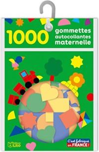 Les gommettes autocollantes: 1000 gommettes autocollantes - De 3 à 5 ans