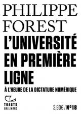 L'Université en première ligne: A l'heure de la dictature numérique