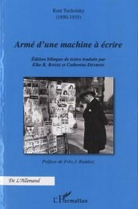 Armé d'une Machine à Ecrire
