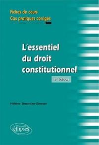 L'essentiel du droit constitutionnel