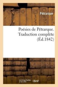Poesies de Petrarque  ed 1842