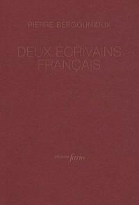 Deux écrivains français