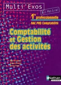 Comptabilité et gestion des activités 1e Bac pro comptabilité 3 ans