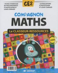 Compagnon Maths CE2 : Le classeur-ressources