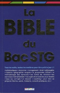 Bible du bac stg (la)