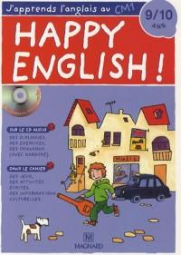 Happy English ! : J'apprends l'anglais au CM1 (1CD audio)