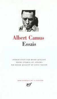 Albert Camus : Essais