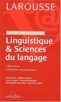 Linguistique et sciences du langage