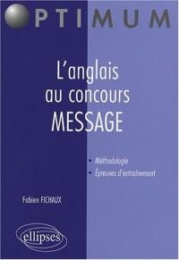 L'anglais au concours MESSAGE