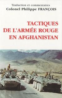Tactiques de l'Armée rouge en Afghanistan