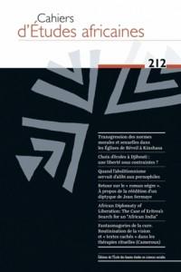 Cahiers d Études Africaines 212