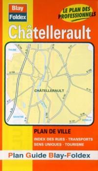 Plan de ville : Châtellerault (avec un index)